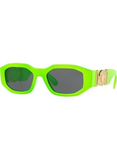 Versace Versace 0Ve4361 531987 53 Ekartman Kadın Güneş Gözlüğü Yeşil